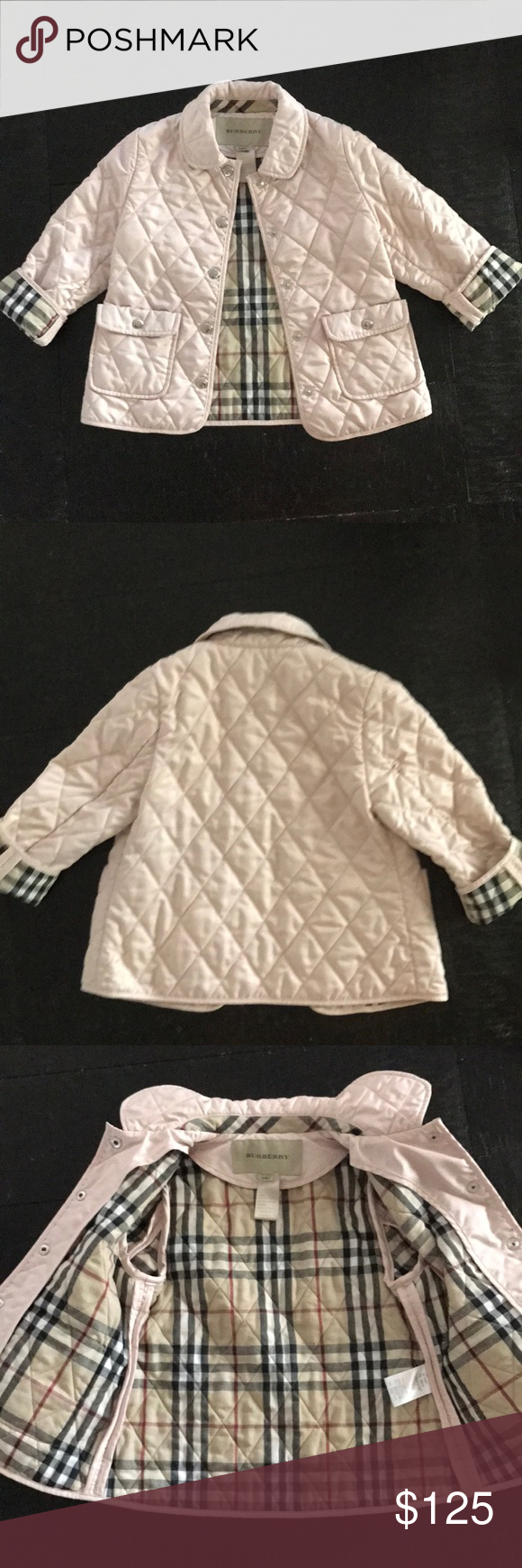 Burberry Quilted Nylon Jacket Girls Pinterest Burberry Quilted