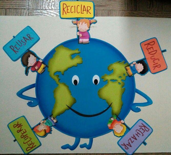 Cuidado del medio ambiente cuidado del ambiente for Modelos de carteleras escolares