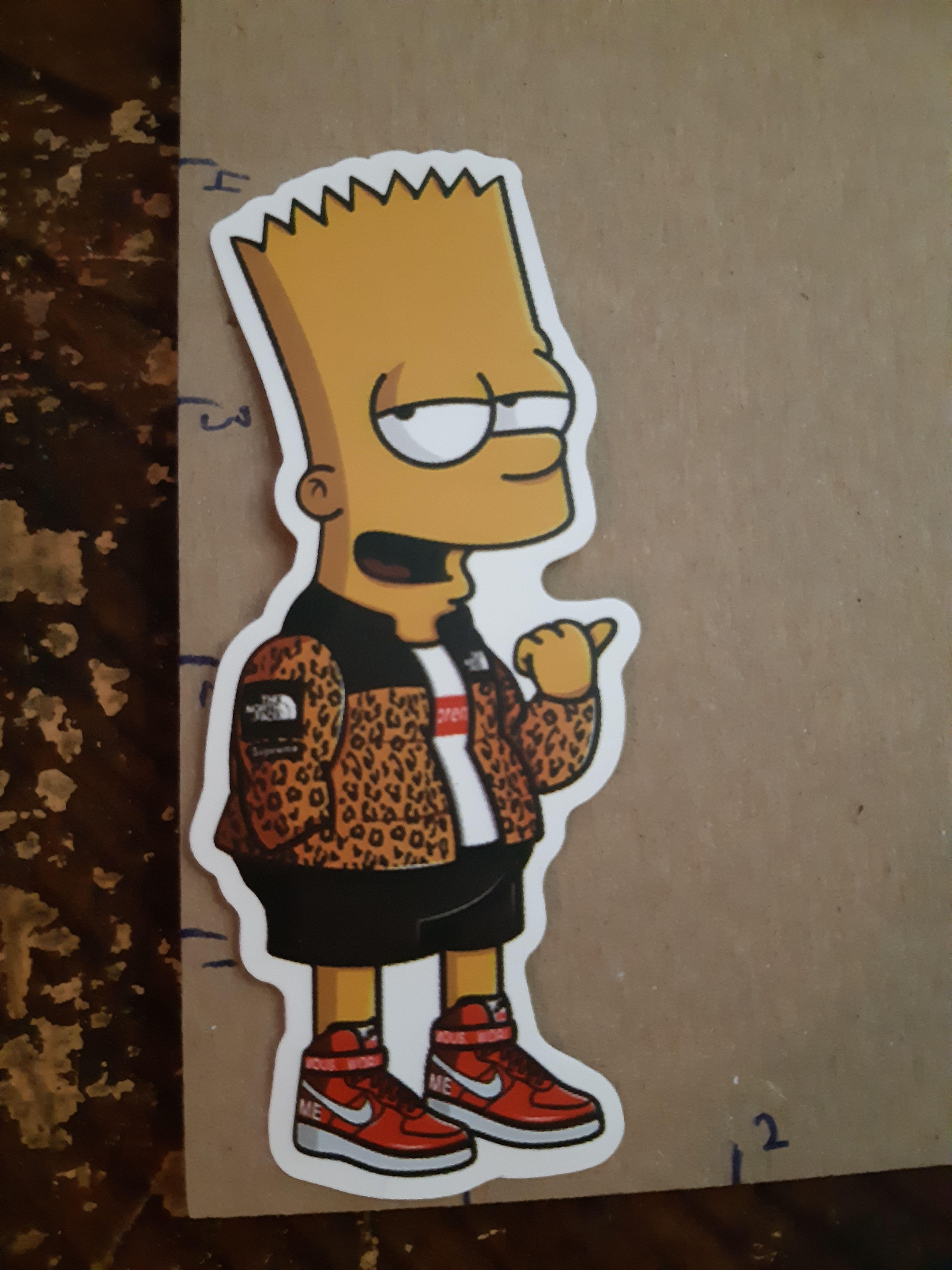 944d6b96cf29 Streetwear Bart Simpson  Skatewear  Skateboarding  NikeSB  Adidas  Vans   Supreme  Palace  Bape  Stussy  Obey  Thrasher  RIPNDIP  fuct   PalaceSkateboards   ...