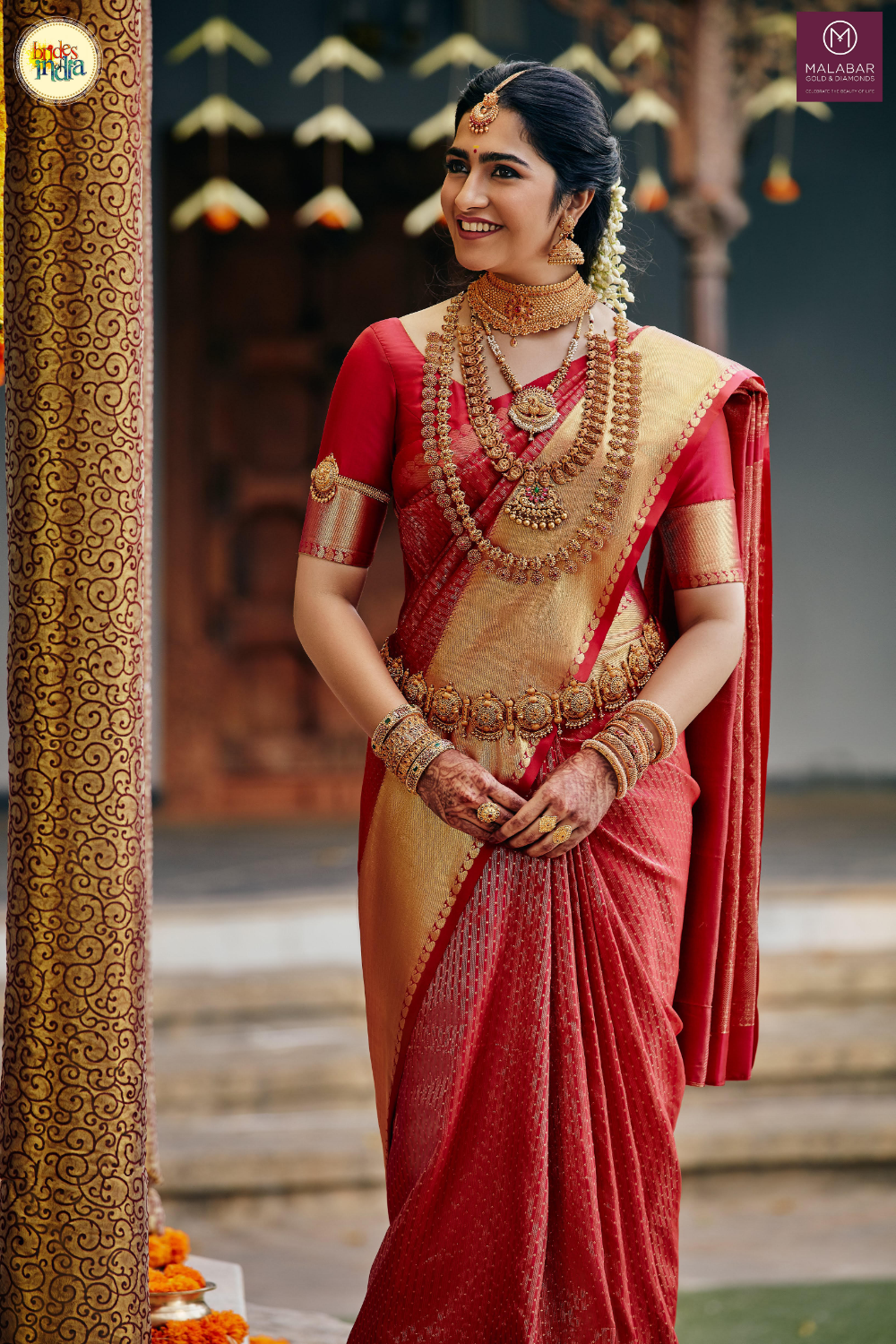 The Art Of Keeping Your Wedding Jewellery As Good As New By Malabar Gold And Diamonds Indian Bridal Fashion South Indian Bride Saree Indian Bridal Sarees