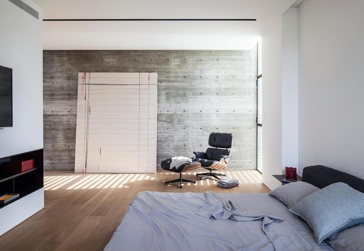 Decorazioni Per Casa Moderna : Casa moderna con piscina a tel aviv camera da letto dormitorios