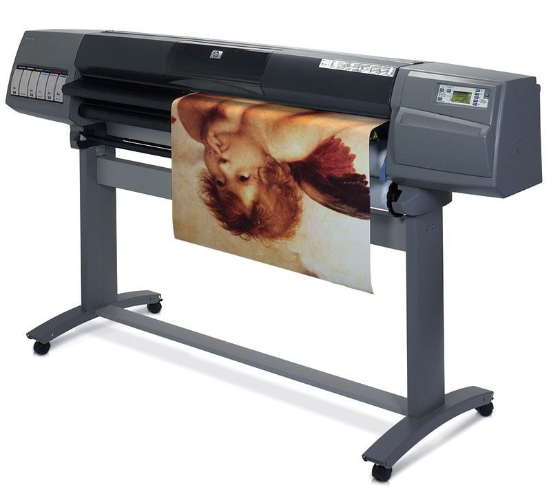 Here is what you can do when your designjet printouts look blue on hp designjet 5000 colour plotter refurbished with 6 months return to base warranty working consumablese hp designjet 5000 colour plotter is as goo fandeluxe Images