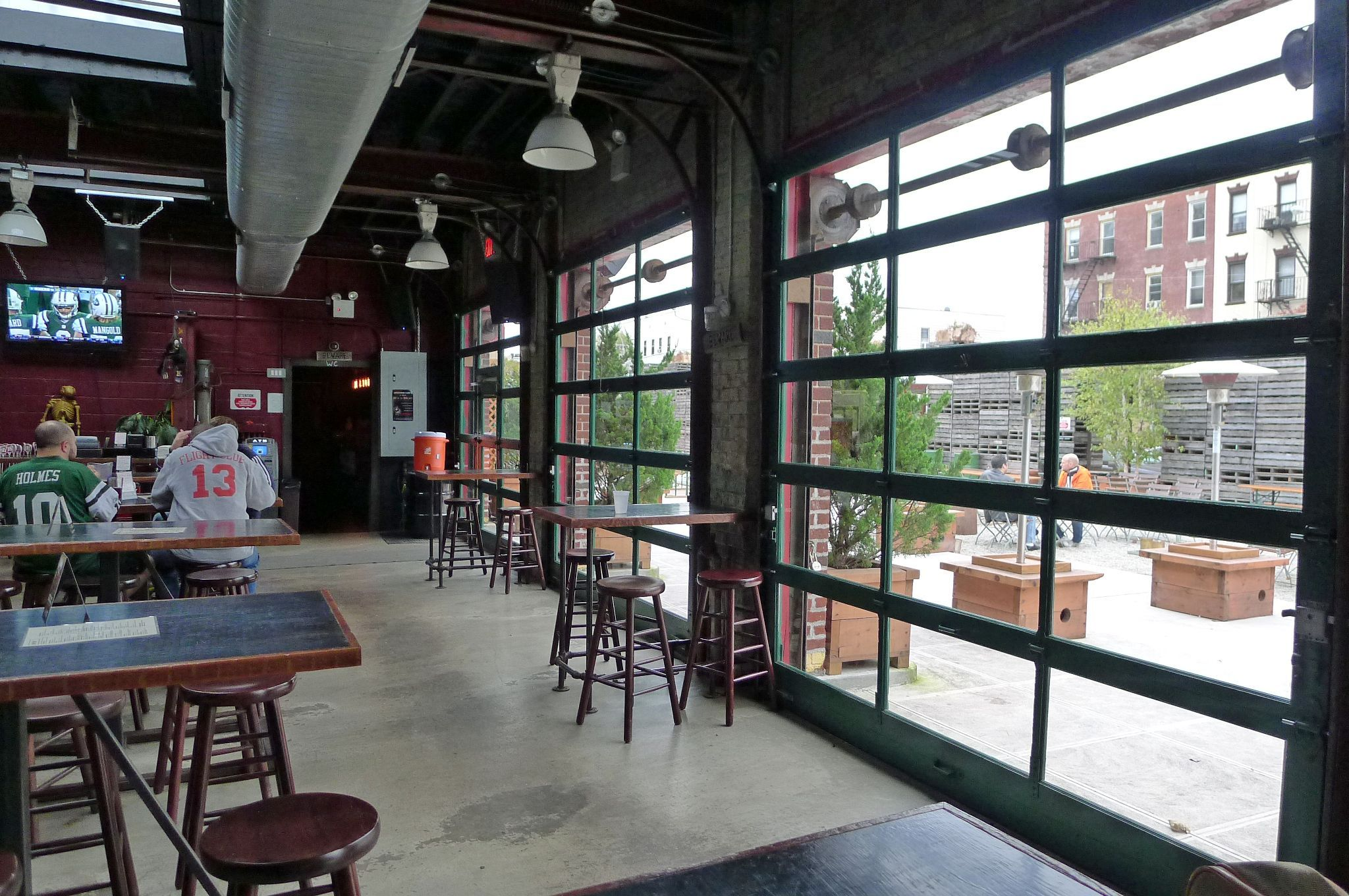 Nycs best patios rooftops and beer gardens eater ny robert - Places to eat near longwood gardens ...