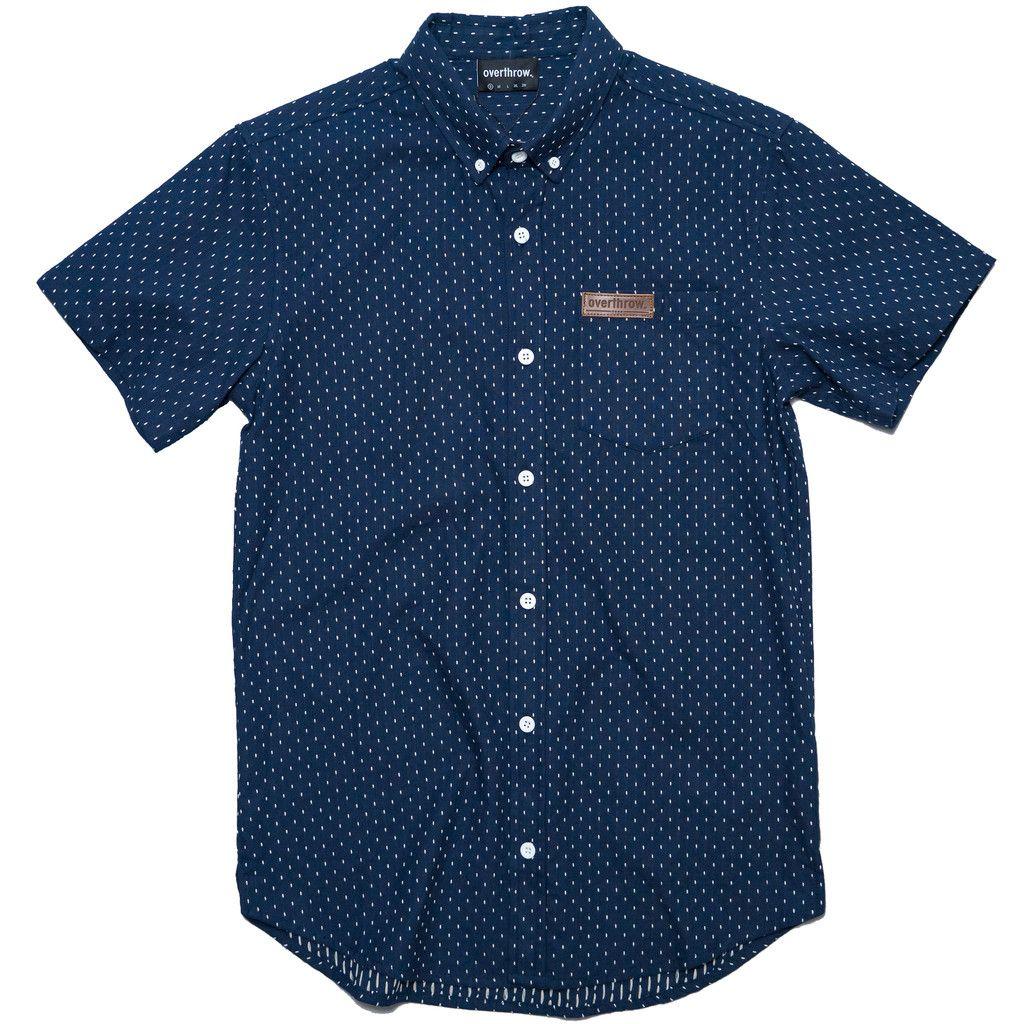 RVCA Grid All T-Shirt Blue Mens T-Shirts