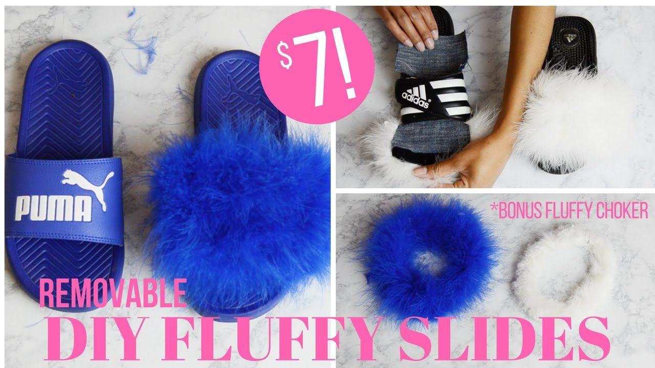 e71ec03ae Fenty By Rihanna Fur Slides By Puma DIY