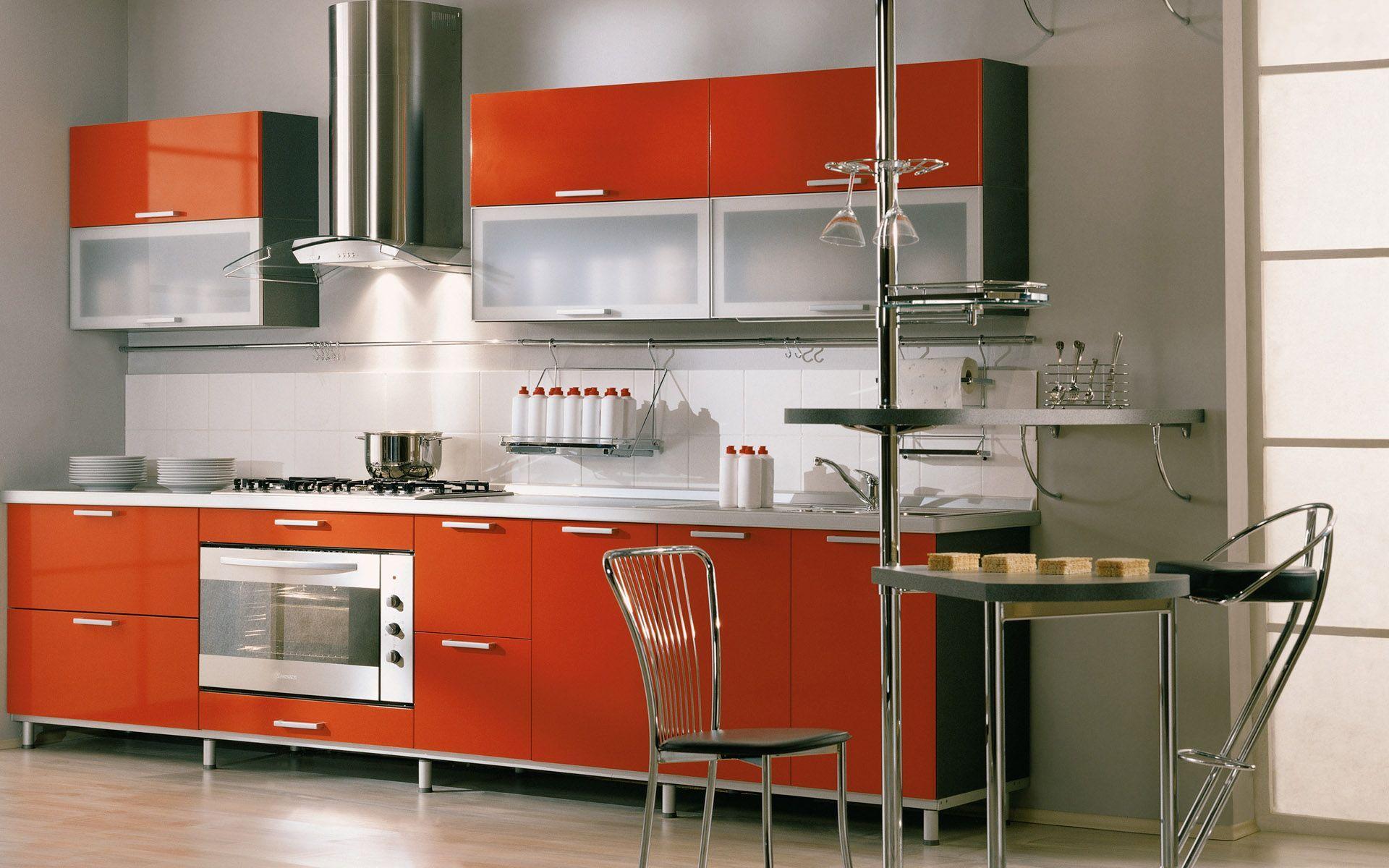 Schneidigen Rot Küche Schränke Hot Design Und Armaturen ...