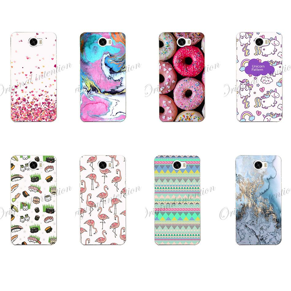Soft Case For Huawei Y5 2017 Cover Dynamic Liquid Colorful Sand Quicksand Clear Phone Case For Coque Huawei Y5 2017 Case Half-wrapped Case Cellphones & Telecommunications