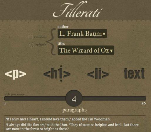 Lorem Ipsum Generators: 10 Ways To Make Your Dummy Text More Fun