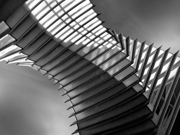 """Linda Wride   UK        """"Twist""""   Twist - high level walkway, London"""