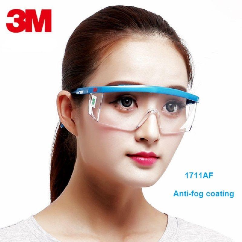 3m 1711af antifog dust safety glasses impact resistant