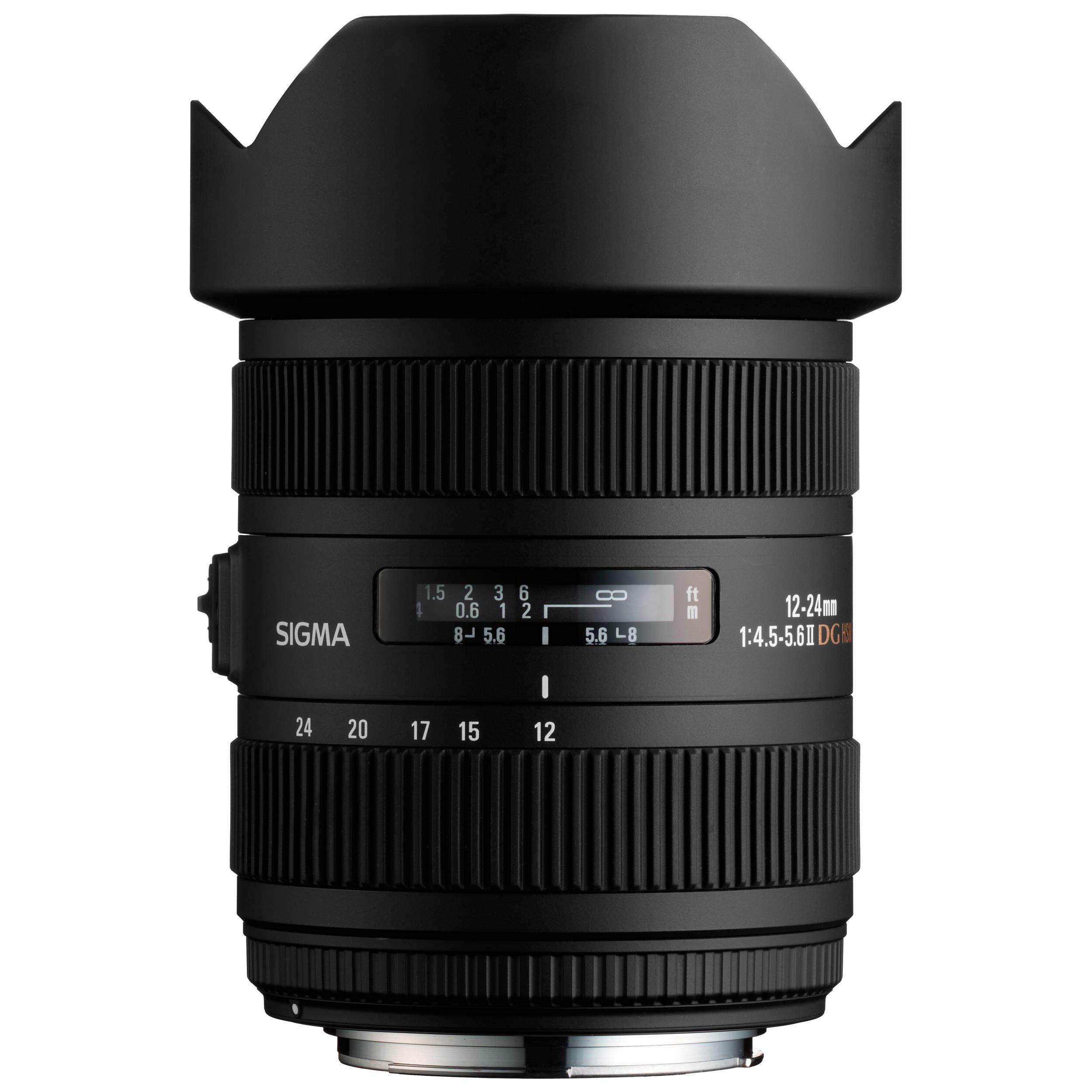 Sigma 12-24mm f/4.5-5.6 DG HSM II Lens (For Canon) | Best lenses for ...