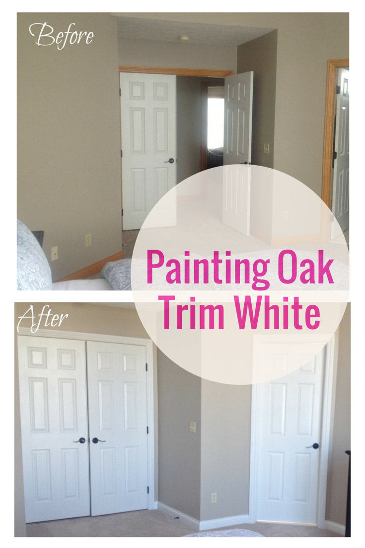 Painting Oak Trim