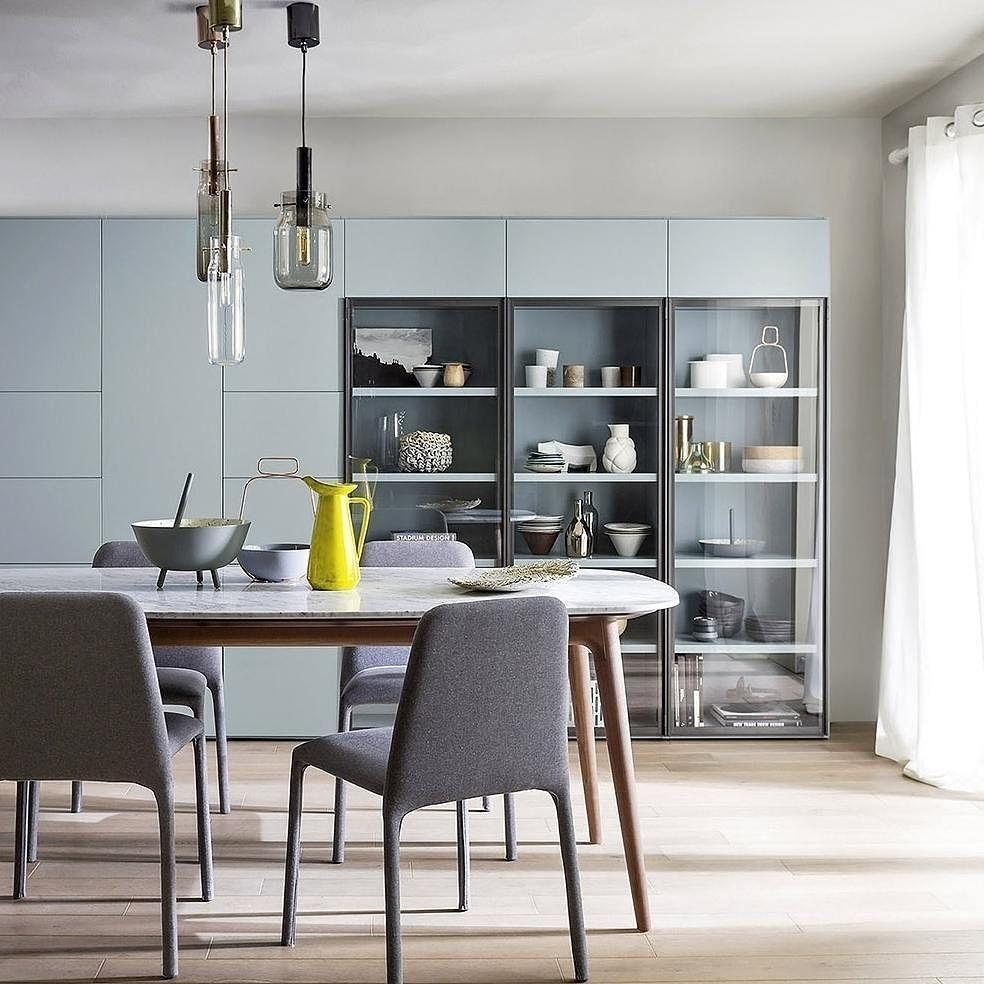 Das Elegante Esszimmer Von Novamobili Aus Italien Ist Ein Blickfang