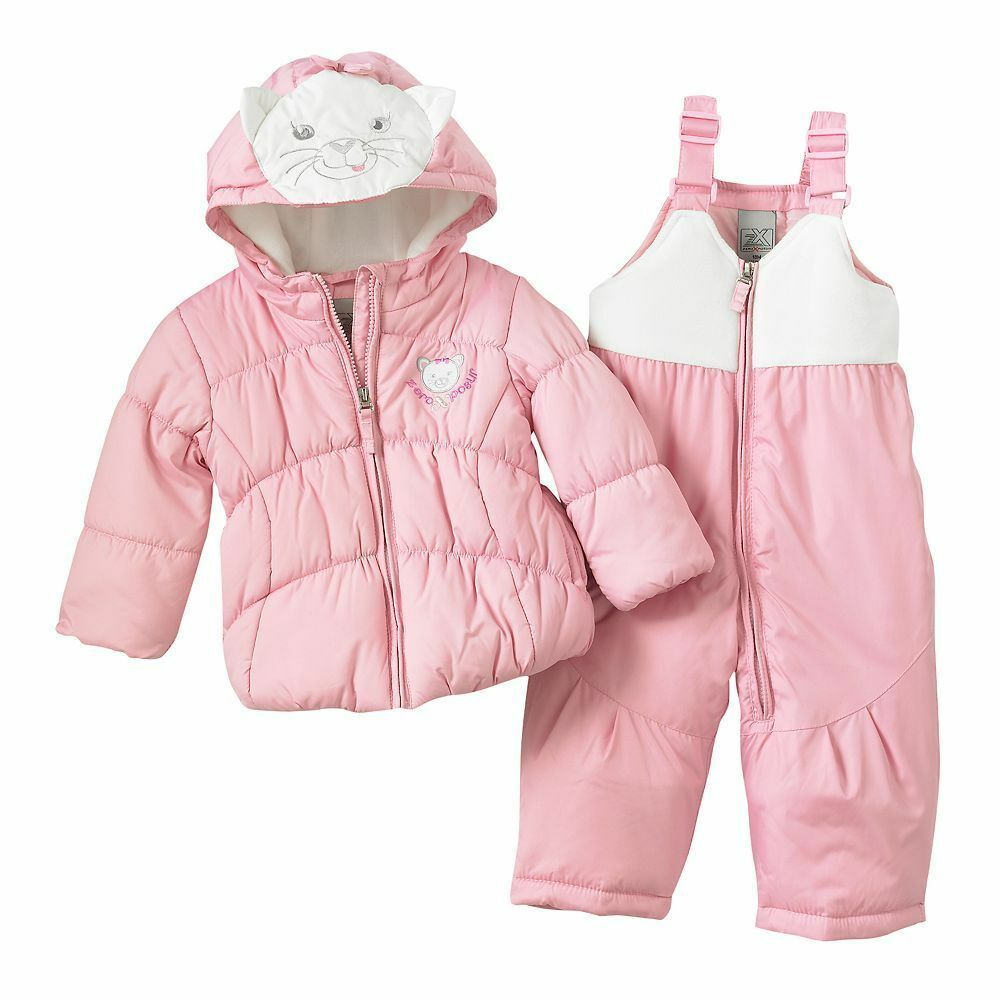 Jacket Amp Snowpants Set Heavyweight Kitty 24 Months Nwt