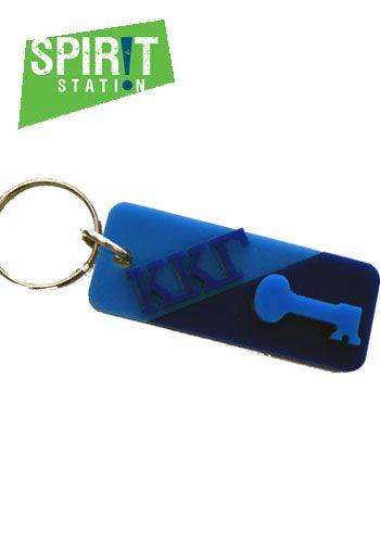 Kappa Kappa Gamma Split Symbol Keychain Kappa Kappa Gamma Kappa Personalized Items