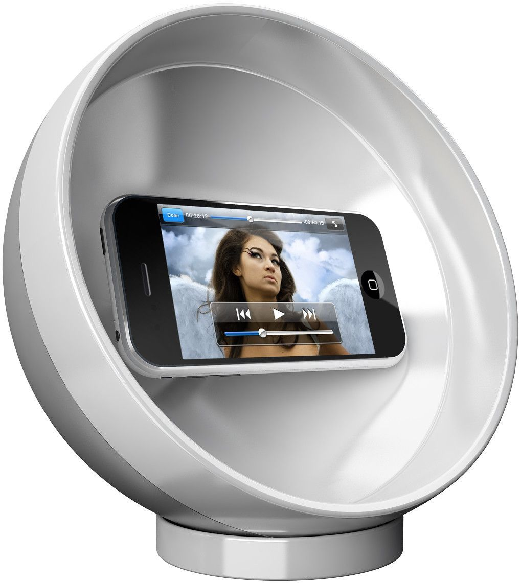 Parabolic Sound Sphere Phone Amplifier