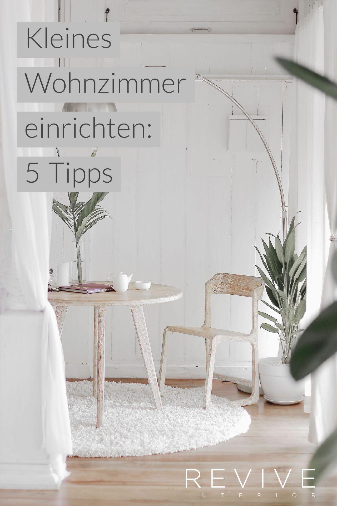 Kleiner Raum: 5 Tipps die du beachten solltest | Wohnideen ...