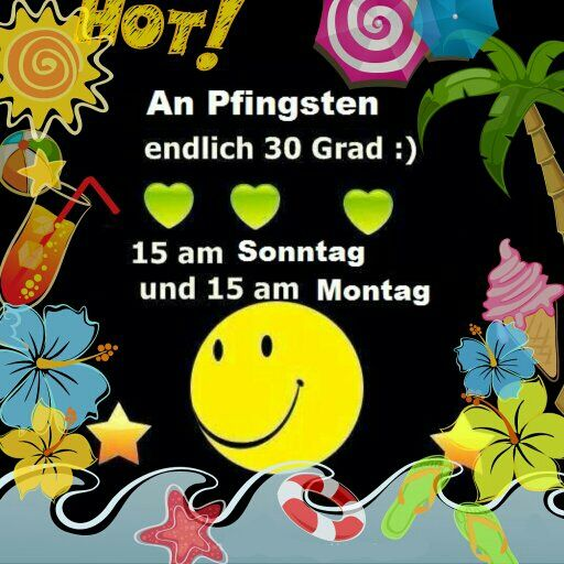 #Wetter #Pfingsten
