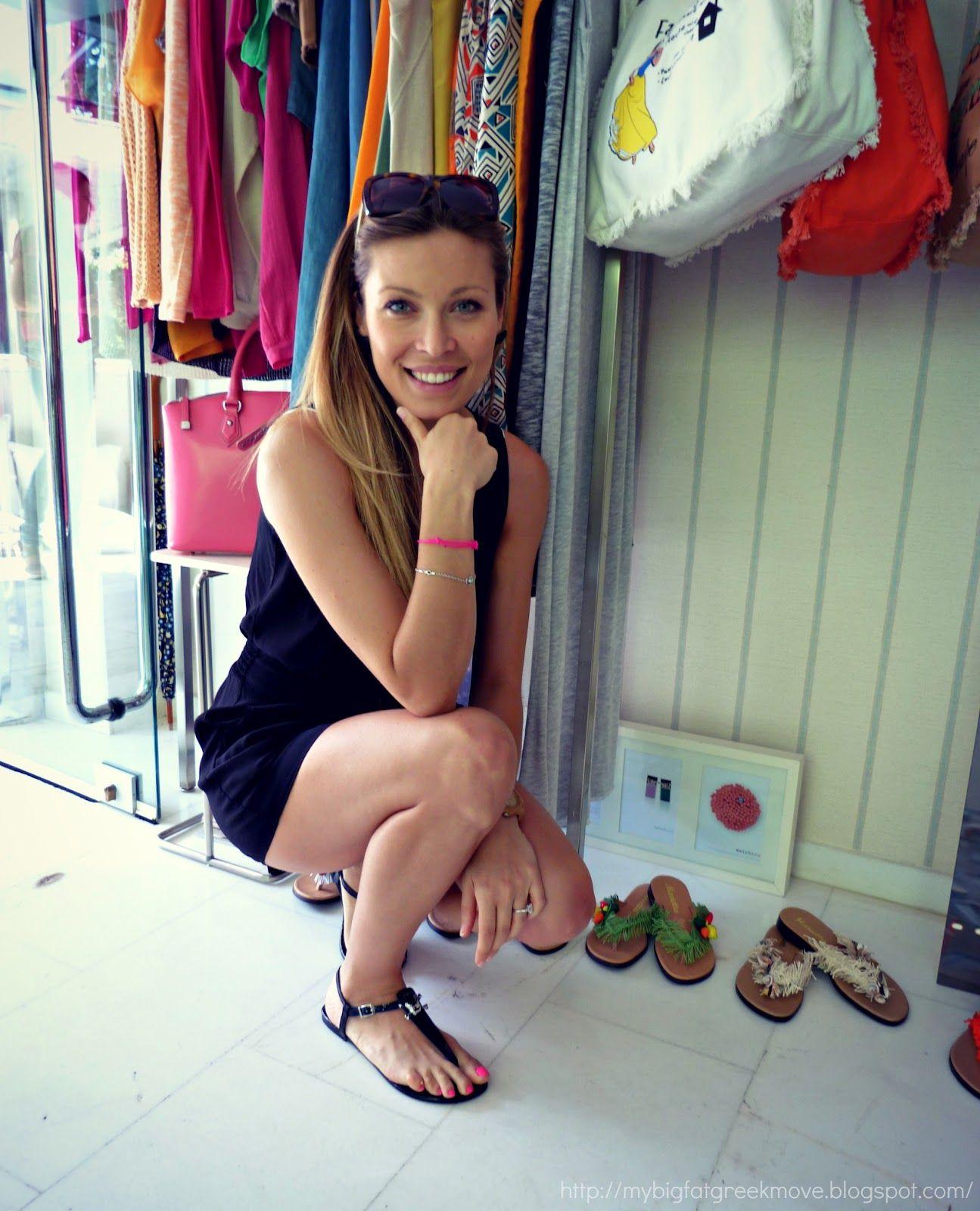 db9423e688a BRIT GREEK  Happy Feet  Mariettas Fantasy Sandal Collection 2012 Model