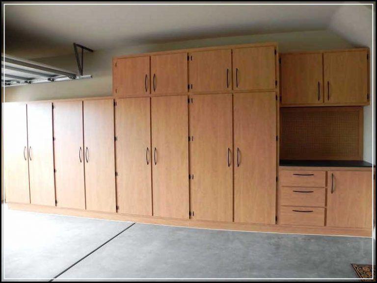 Creating diy space saving garage plans garage