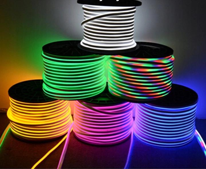 Waz Swietlny Led Neon Flex 230v 7 Kolorow 1mb Led Light Strips Led Strip Lighting Led
