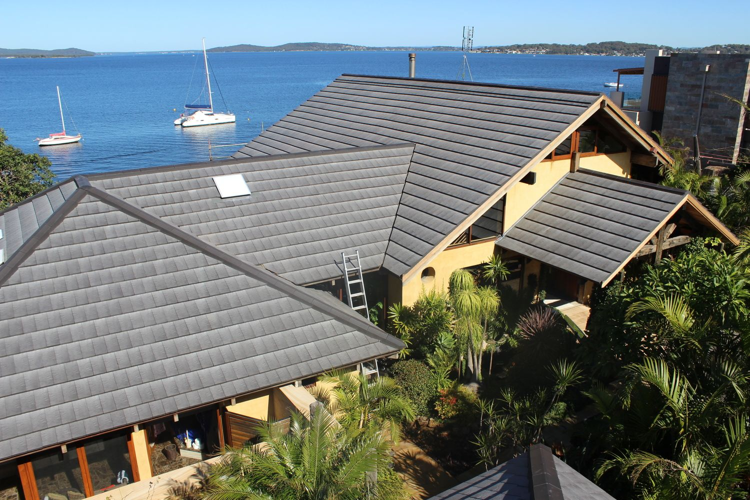 Another Project With Our Terracotta Roof Tile Plasma Available All Around Australia Sydney Melbourne Bris Terracotta Roof Tiles Terracotta Roof Roof Colors
