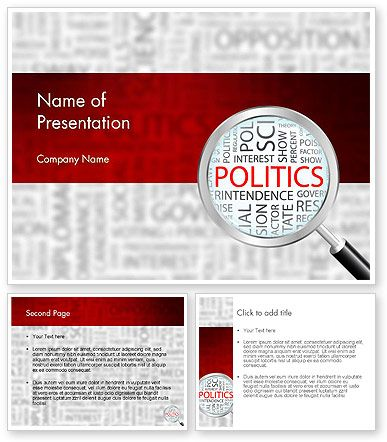 wwwpoweredtemplate 11664 0 indexhtml Politics - puzzle powerpoint template