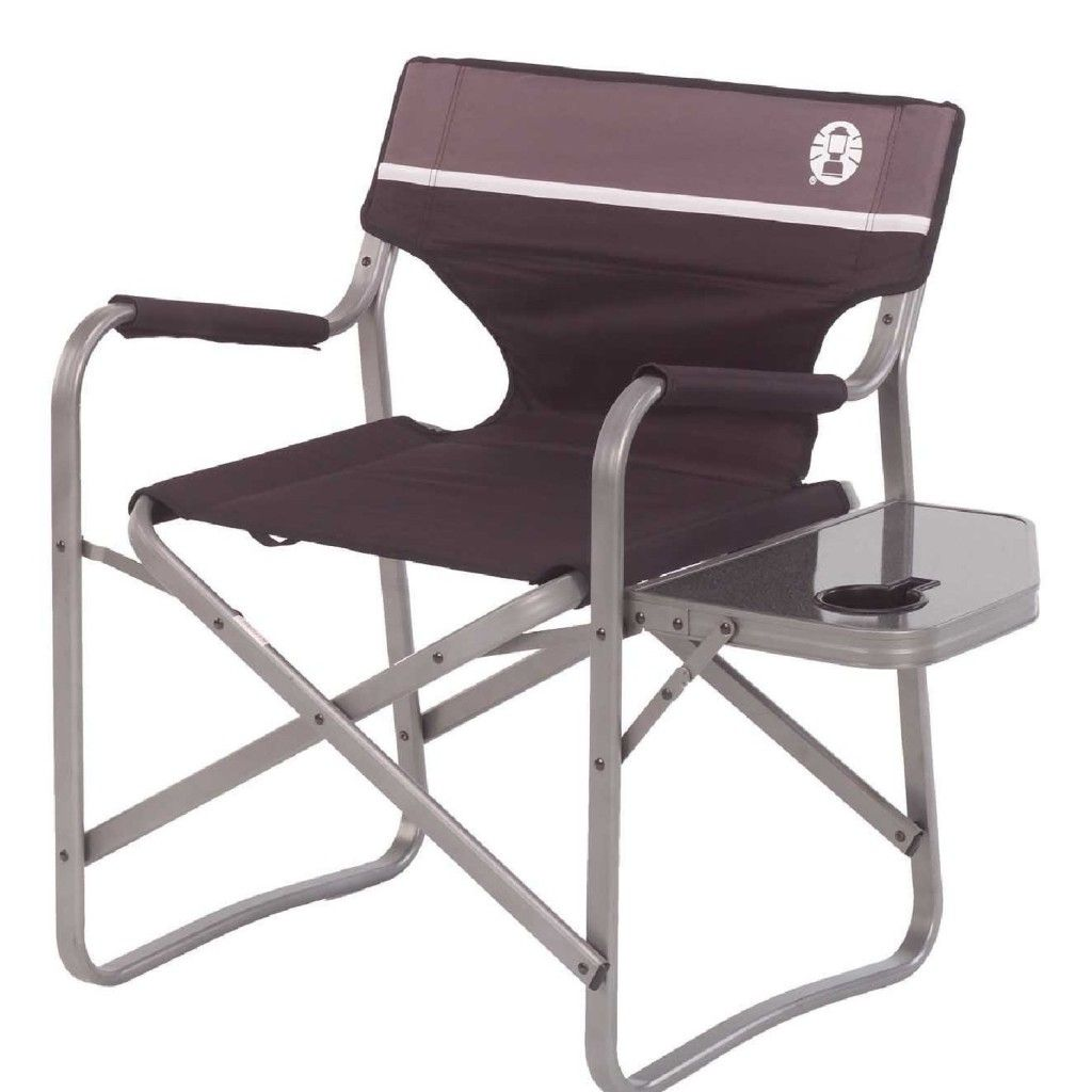 Outdoor Folding Chair With Table Attached