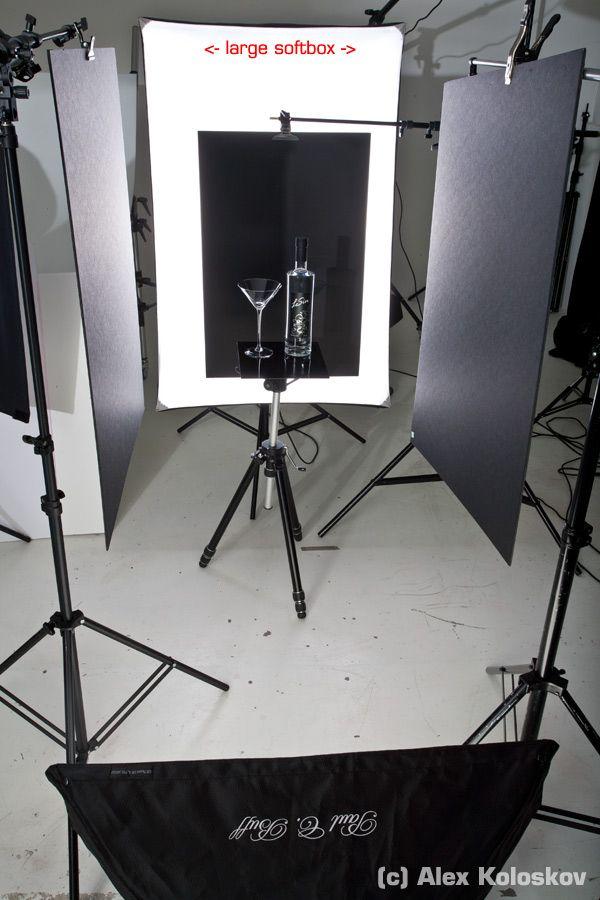 Alternative Product Lighting Setup Product Photography Tutorial Glass On Black Fotografi Lampu