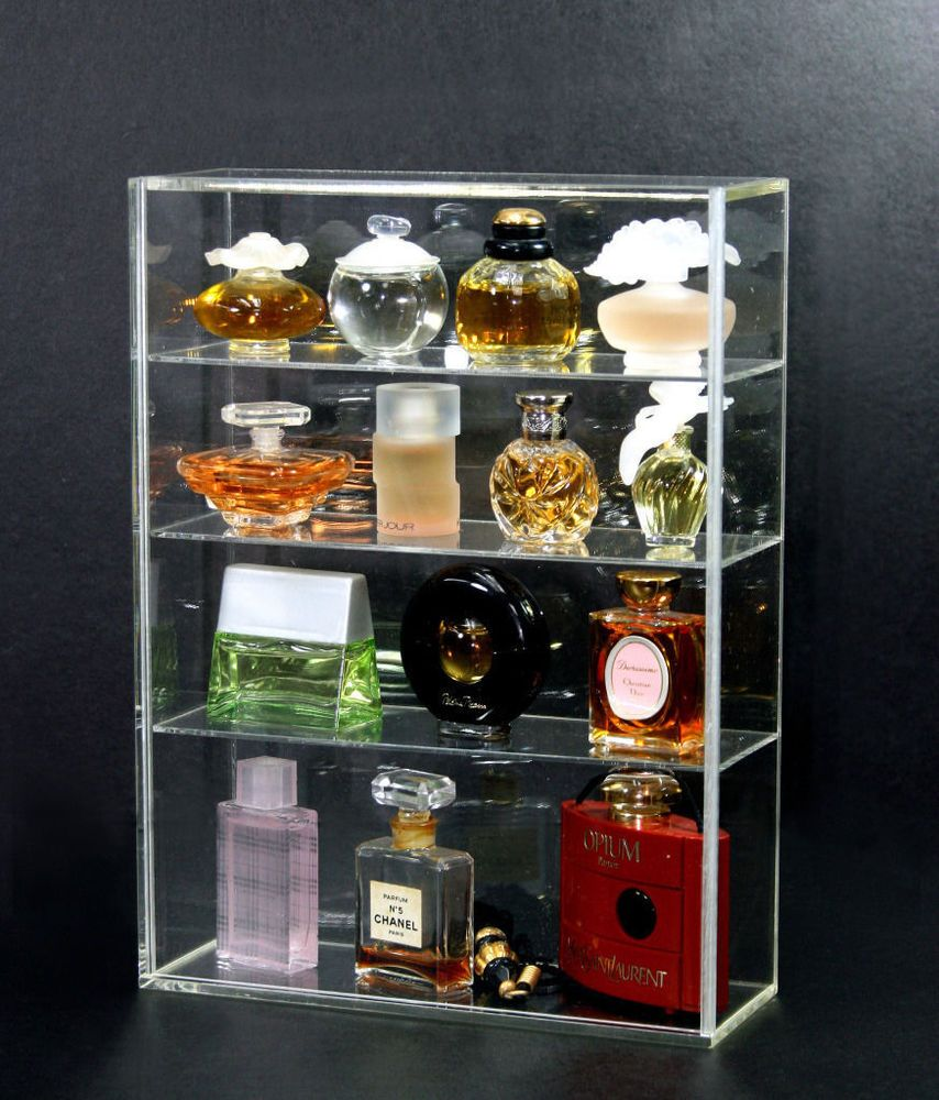 Details About Acrylic Countertop Display Case 10 X 4 5 X 16 5 With