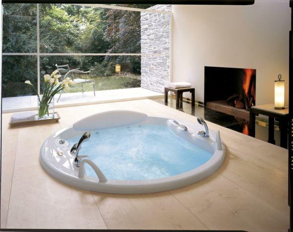 Cooler Whirlpool Jacuzzi auswählen und kaufen u2013 Vor- und Nachteile - badezimmer kaufen