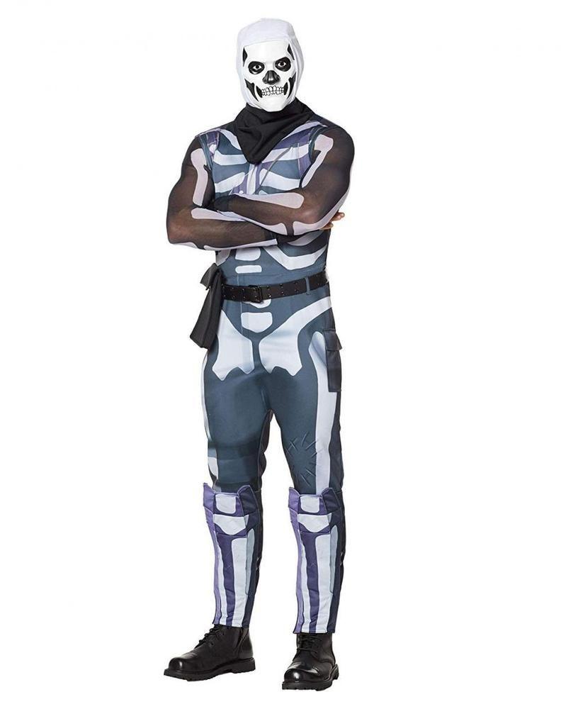 Spirit Halloween Adult Fortnite Skull Trooper Costume Fortnite