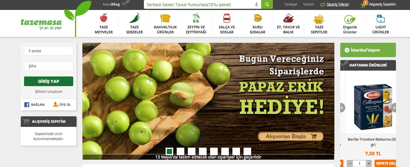 #Organik #gıda sektörünün #trend markası #tazemasa #Tazemasa #online satışlarını #Ticimax #eticaret altyapısı ile yapmakta.  https://www.ticimax.com/e-ticaret-siteleri/