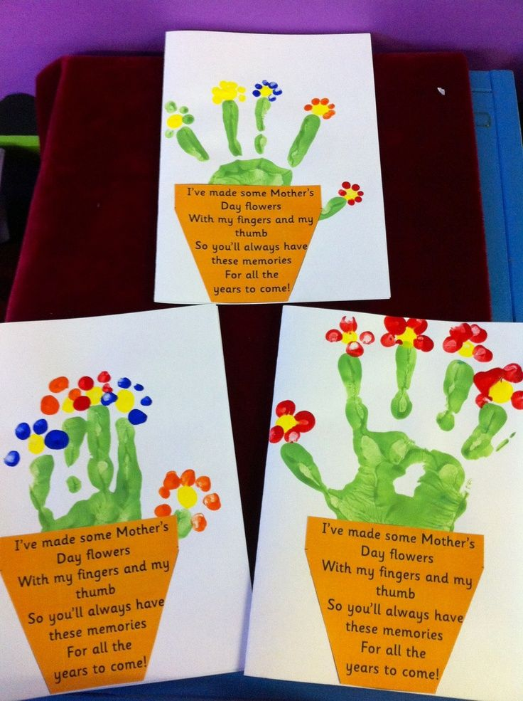 12 easy mother s day crafts for toddlers to make diy for for Mothers day cards from preschoolers