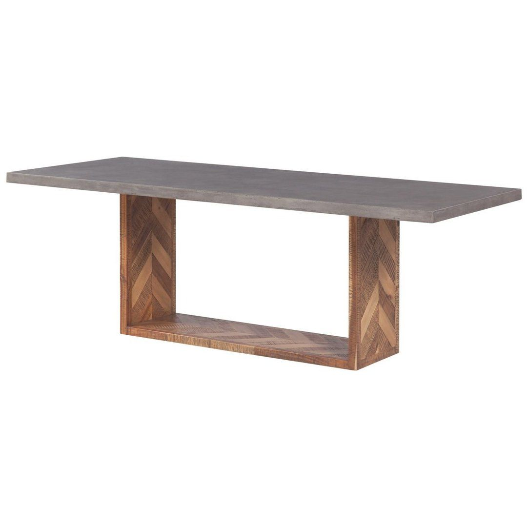 Tov Furniture Modern Wyckoff Mixed Dining Table Tov D7055 Dining Table Dining Table In Kitchen Wooden Dining Tables