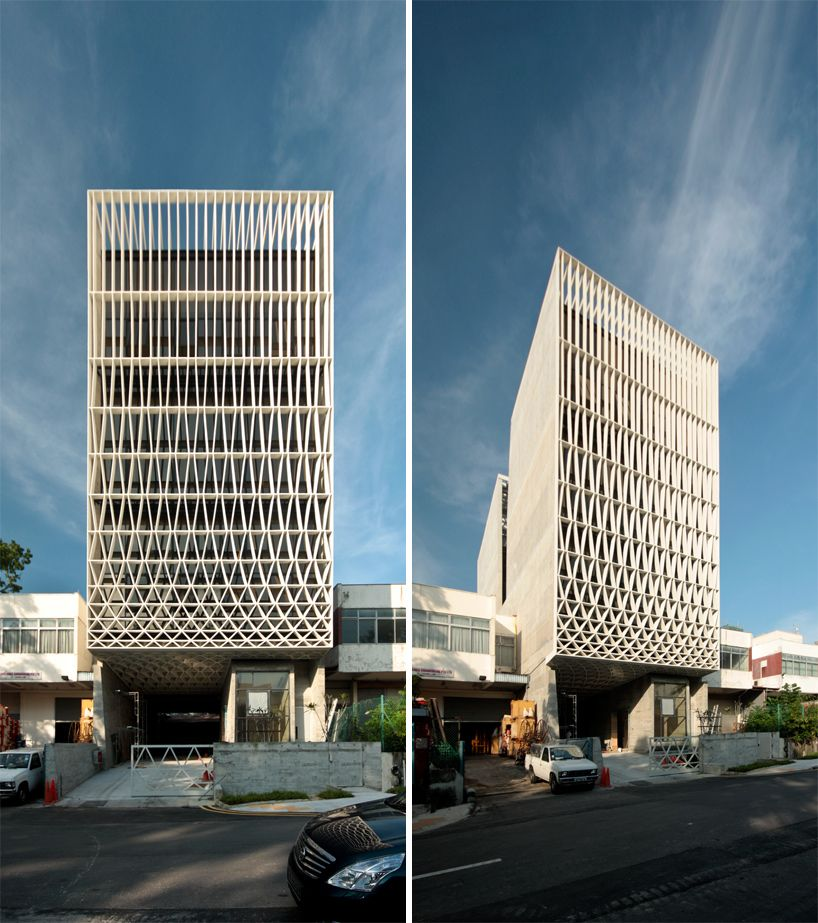 Pencil Office: A Multi-storey Structure In An Industrial