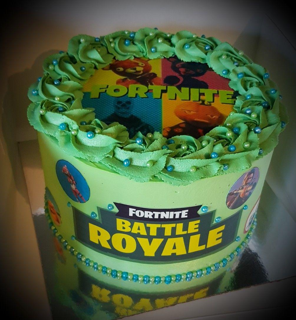 Gateau Fortnite Mes Gâteaux Gâteau Fortnite