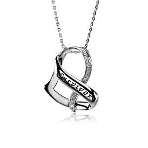 Survivor Necklace In Silver Survivor Necklace Survivor Jewelry Silver Necklace