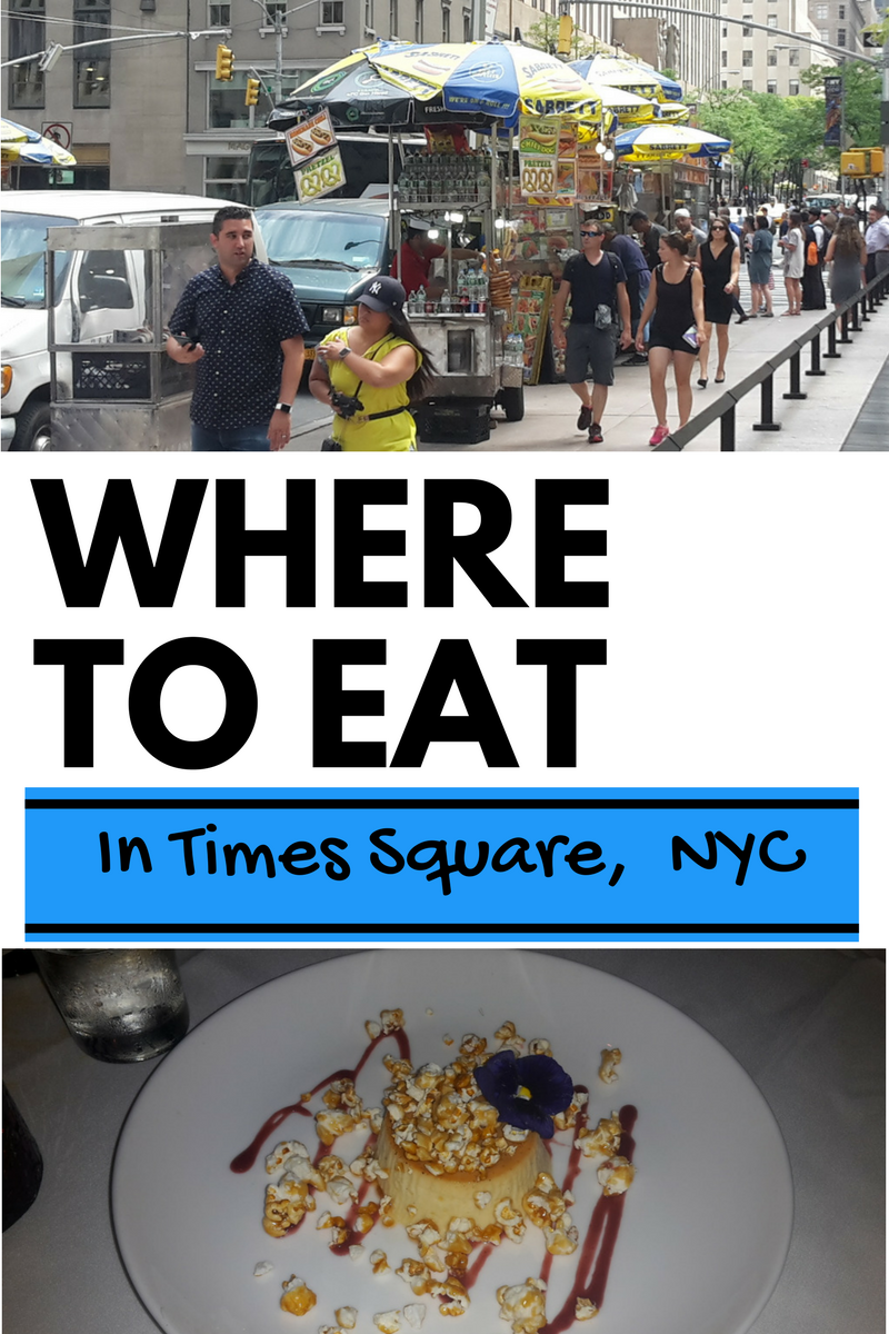 Where To Eat Around Times Square In NYC