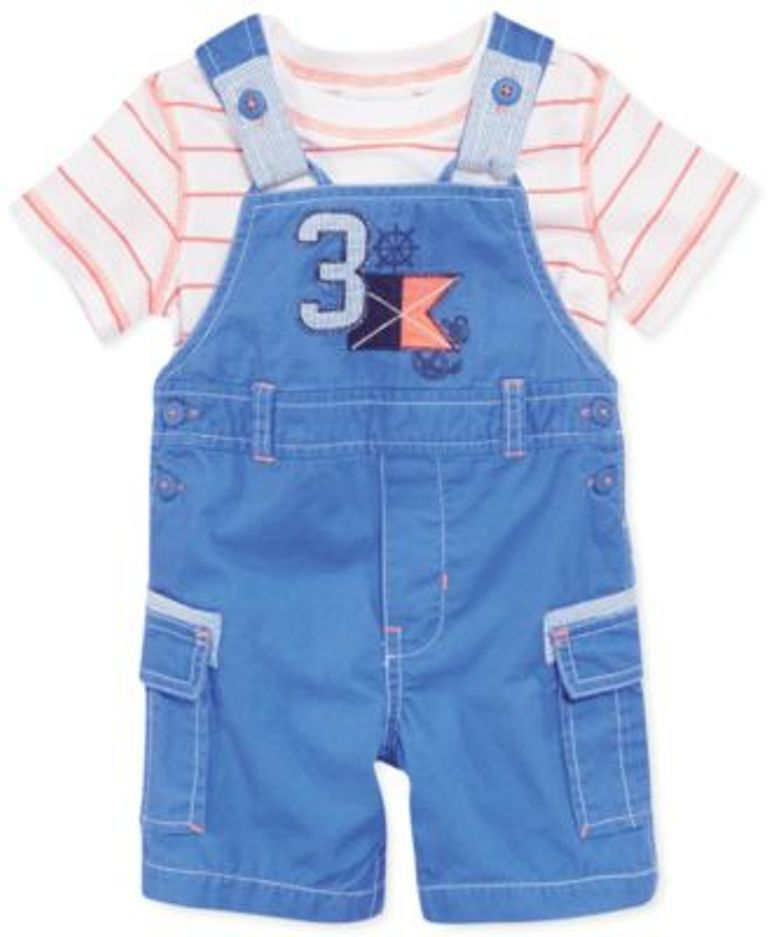 OLD NAVY BABY BOYS JERSEY  SHORTS ORANGE//GREEN//WHITE//BLUE SIZES 0-3 AND 3-6 NWT