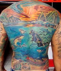 Resultado de imagem para tattoo fundo do mar
