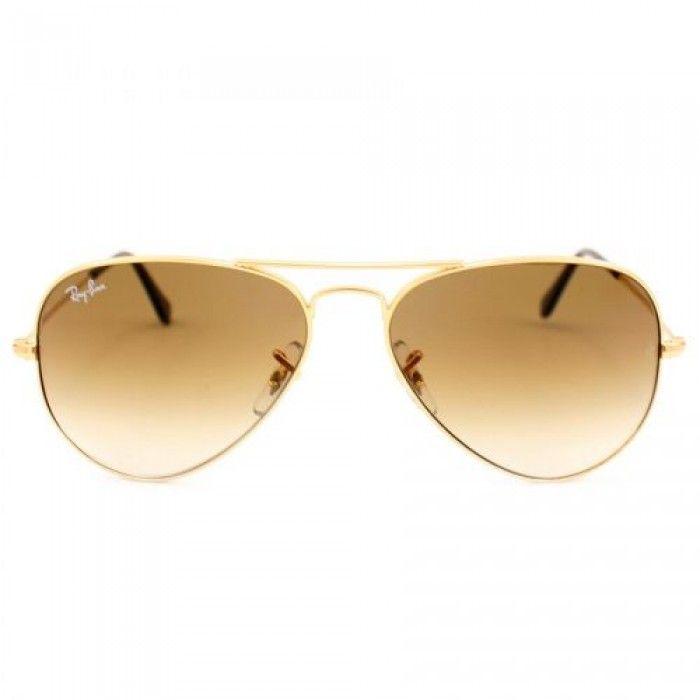 Óculos Ray Ban Degradê Marrom