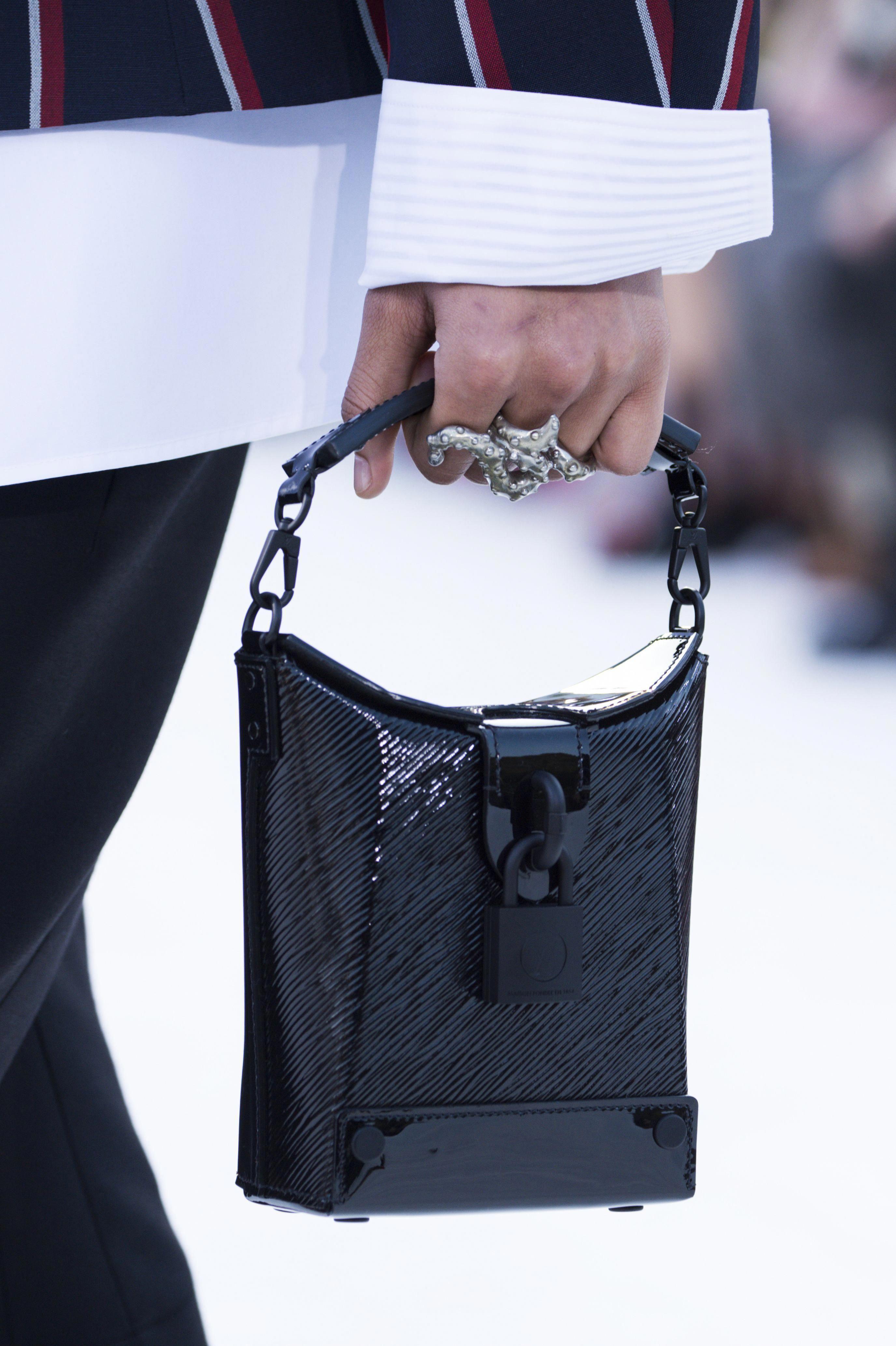 21b8f39e31d2 Bag from the Louis Vuitton Cruise 2018 Fashion Show by Nicolas Ghesquière