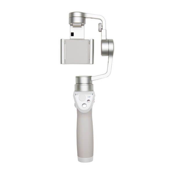 DJI Osmo Mobile Silver è il gimbal a mano della DJI per stabilizzare sui tre assi uno smartphone tramite DJI Zenmuse M1, di colore argento  https://dji-store.it/product/osmo-mobile-silver/