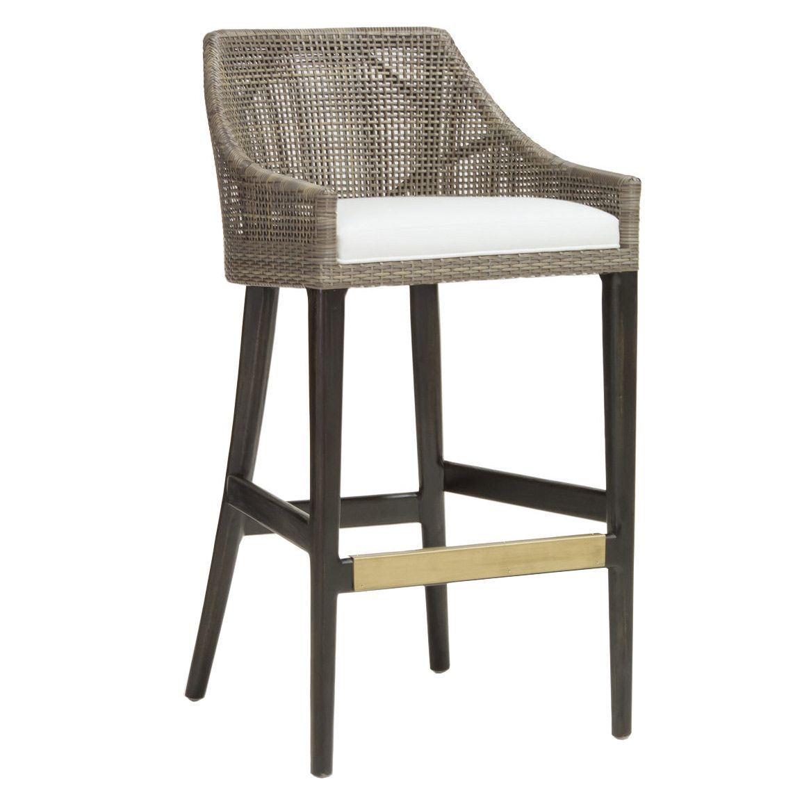 The Palecek Vincent counter bar stool. Minimum purchase of 2; Fabric options available;  sc 1 st  Pinterest & The Palecek Vincent counter bar stool. Minimum purchase of 2 ... islam-shia.org