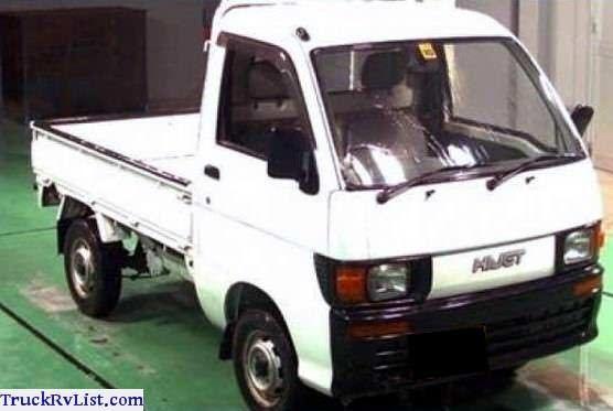 1995 Daihatsu Hijet Truck 4x4 Minitruck Daihatsu Mini Trucks Trucks
