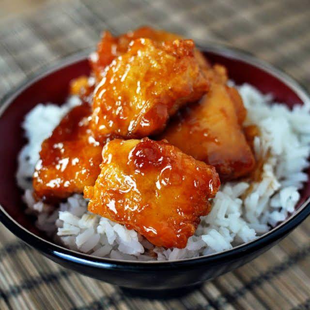 Firecracker Chicken Thighs: Firecracker Chicken