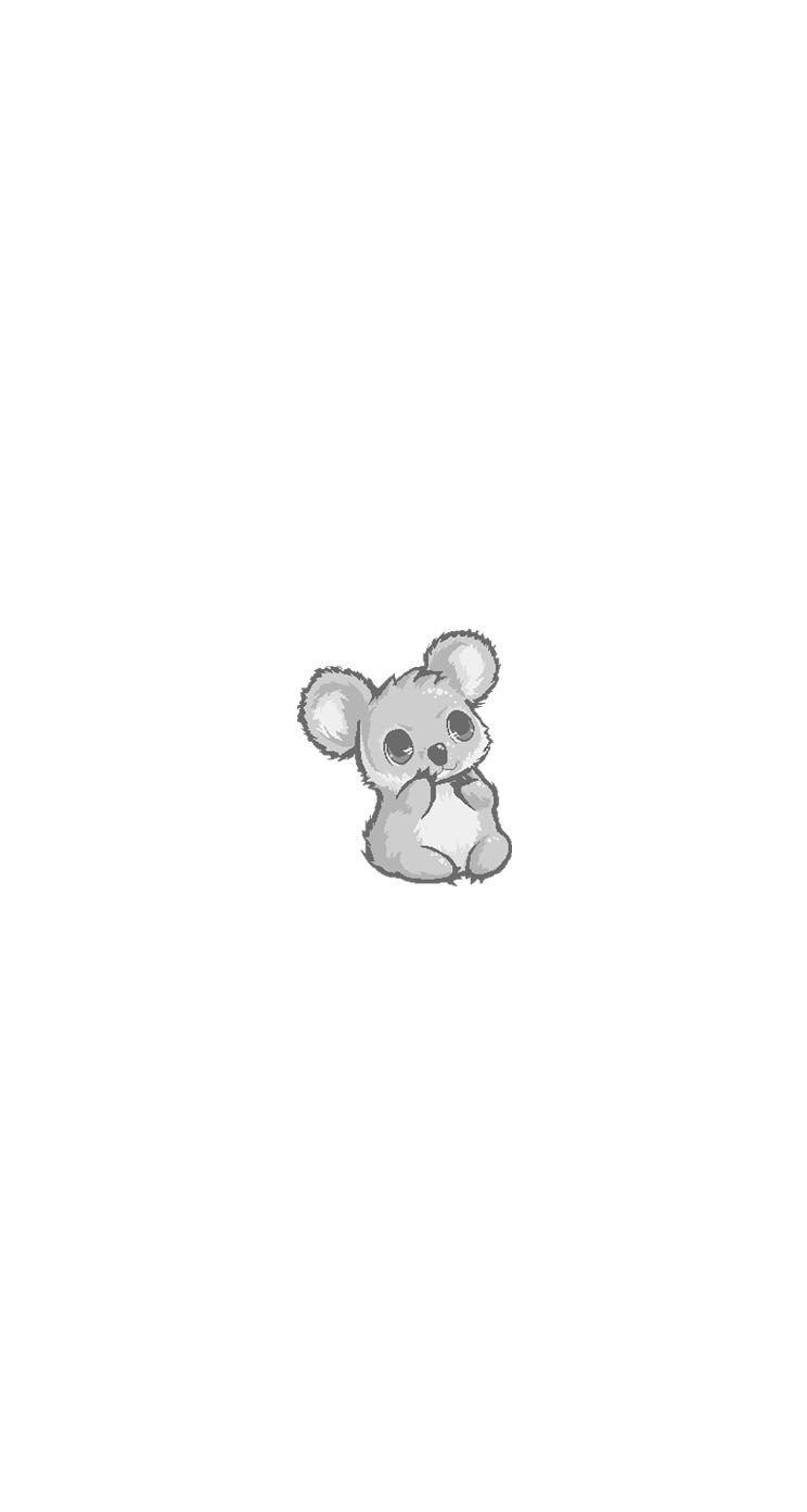 Tumblr Nb2i28bdpg1tj4igoo2 1280 Jpg 744 1 392 Piks Cute Cartoon Wallpapers Koala Drawing Cute Wallpapers