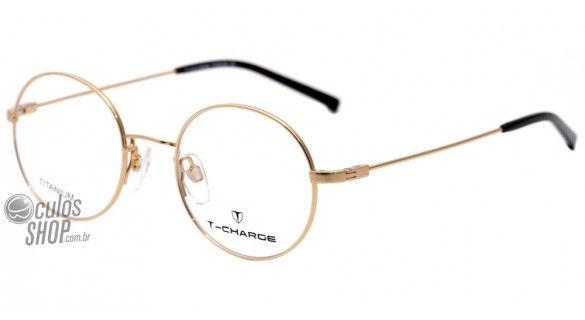 T Charge T 1039 Oculos De Grau 04h Dourado E Preto Lente 4 7