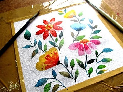 80 Simple Watercolor Painting Ideas Watercolor Paintings For